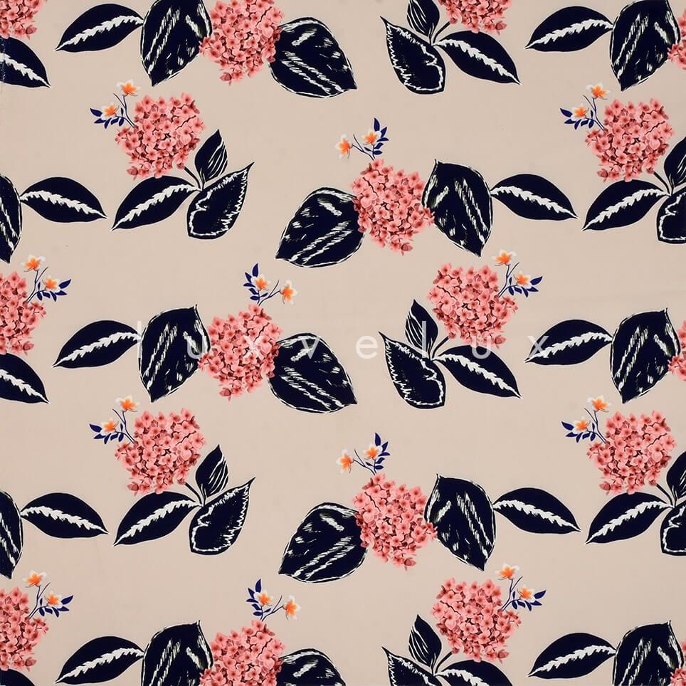 Carnation Pattern Ecru Backdrop