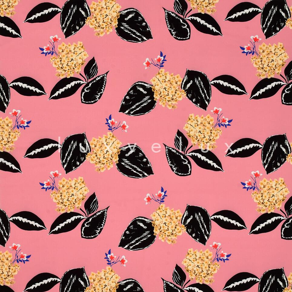 Carnation Pattern Salmon Backdrop