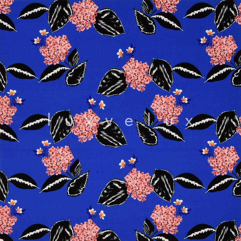 Carnation Pattern Sax Backdrop