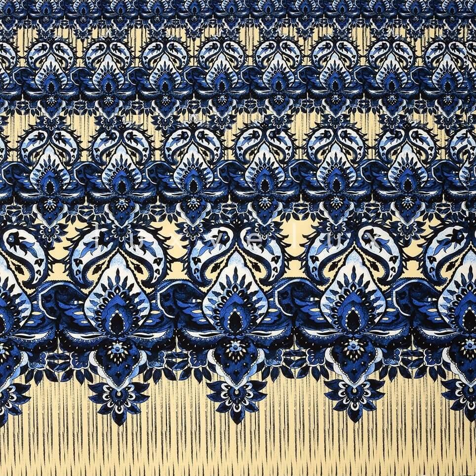 Curtain Pattern Navy