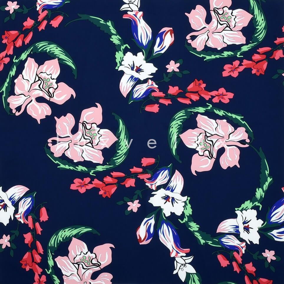 Daffodil Flower Ground Blue Flower Salmon