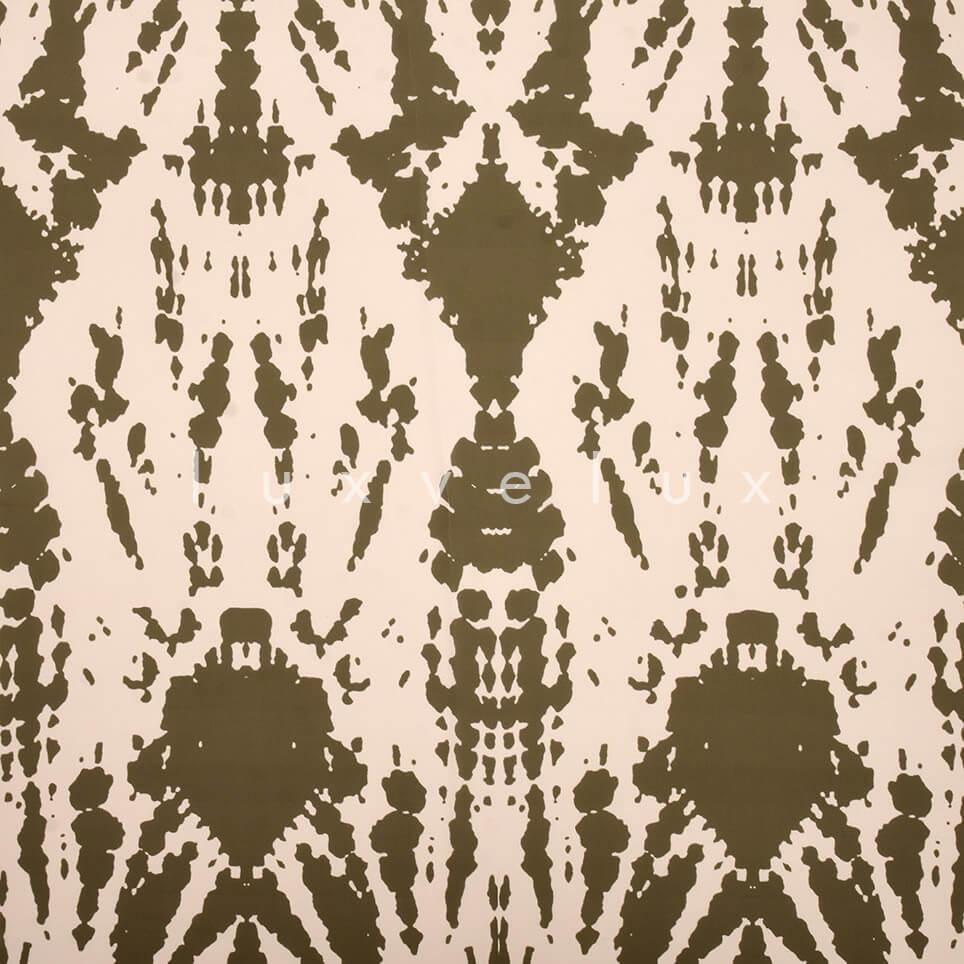 Ethnic Pattern Khaki