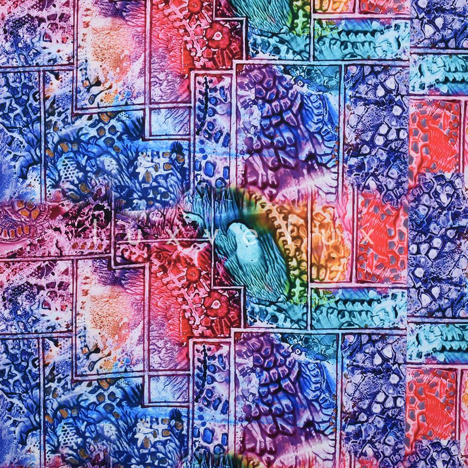 Mythology Pattern Bluish