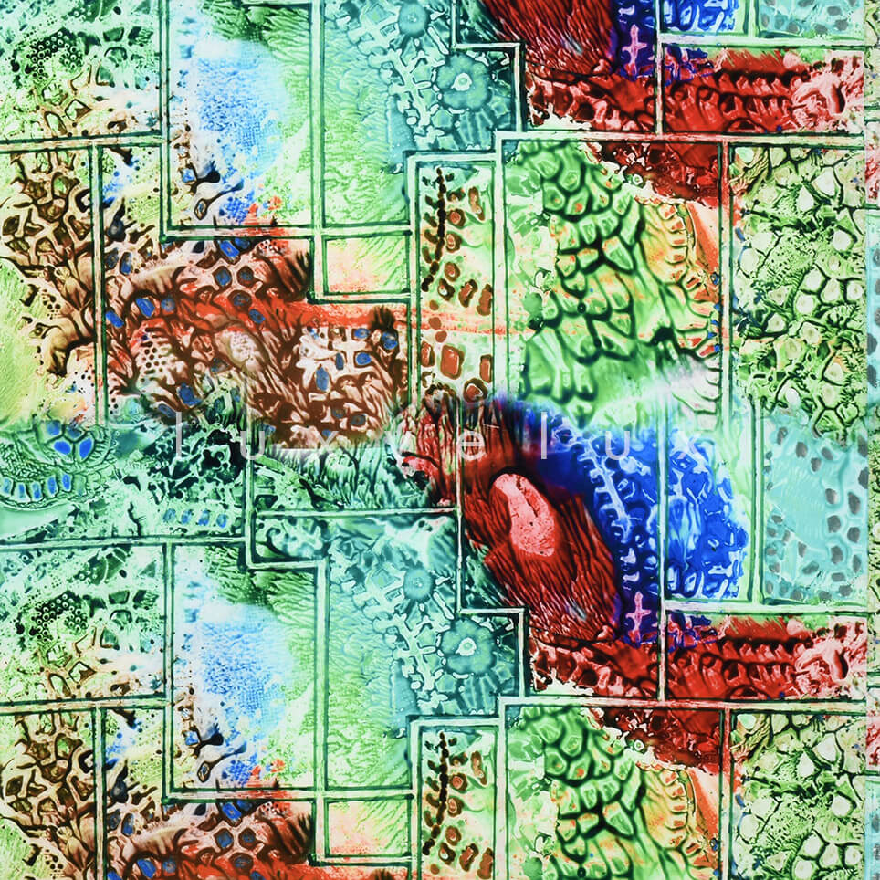 Mythology Pattern Greenish