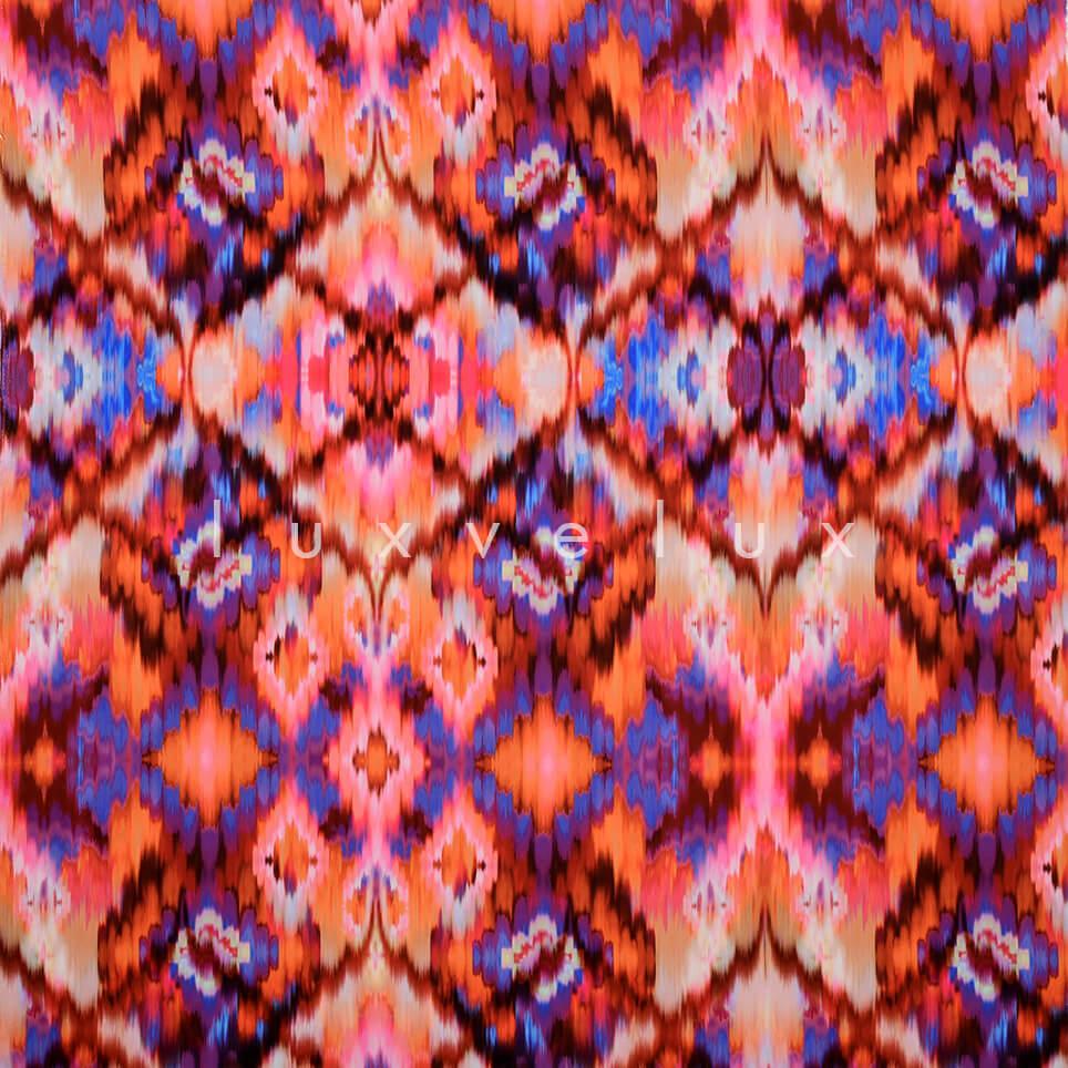 Ethnic Pattern Orange