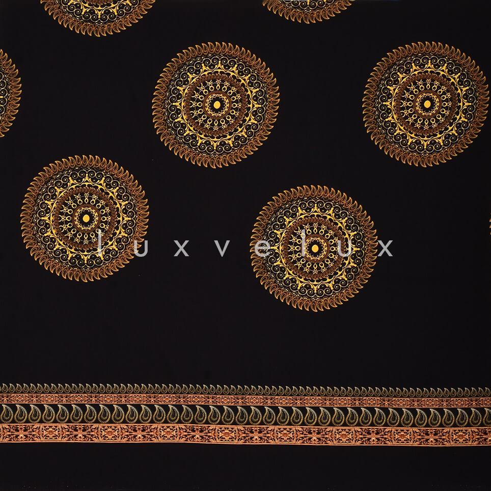 Ottoman Monogram Black Background