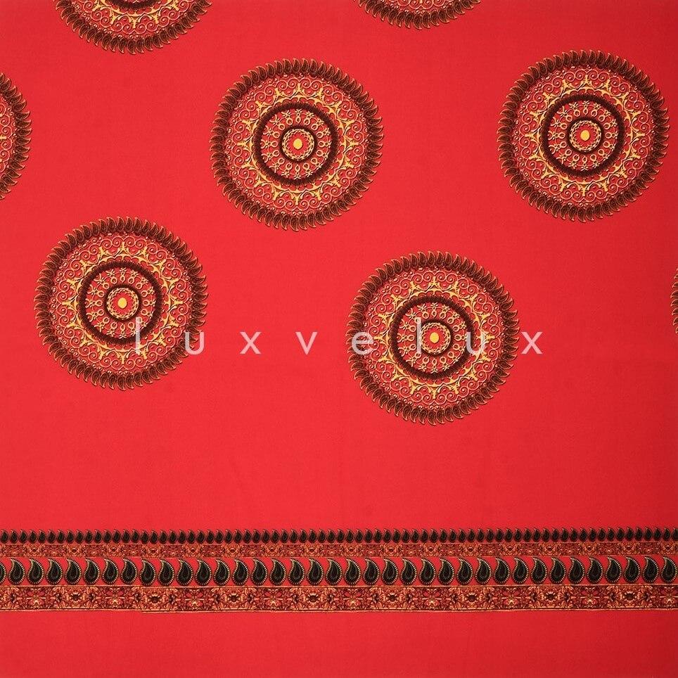 Ottoman Monogram Red Background