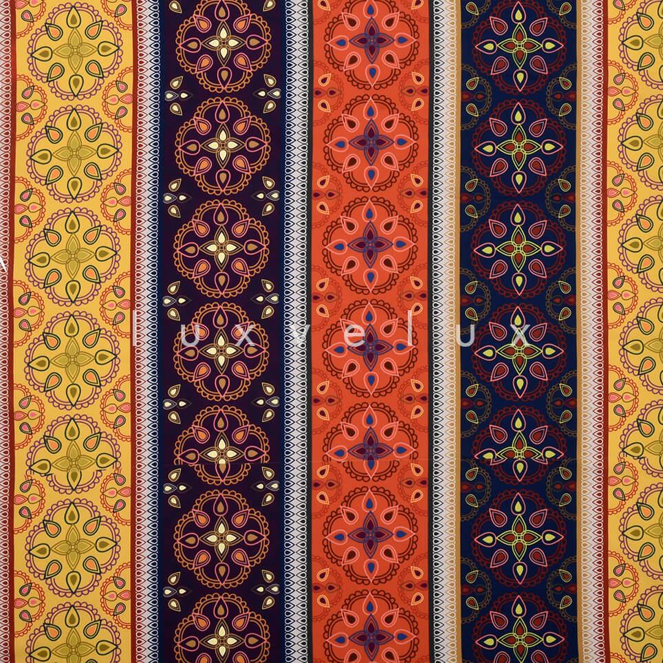 Ottoman Motif Colorful