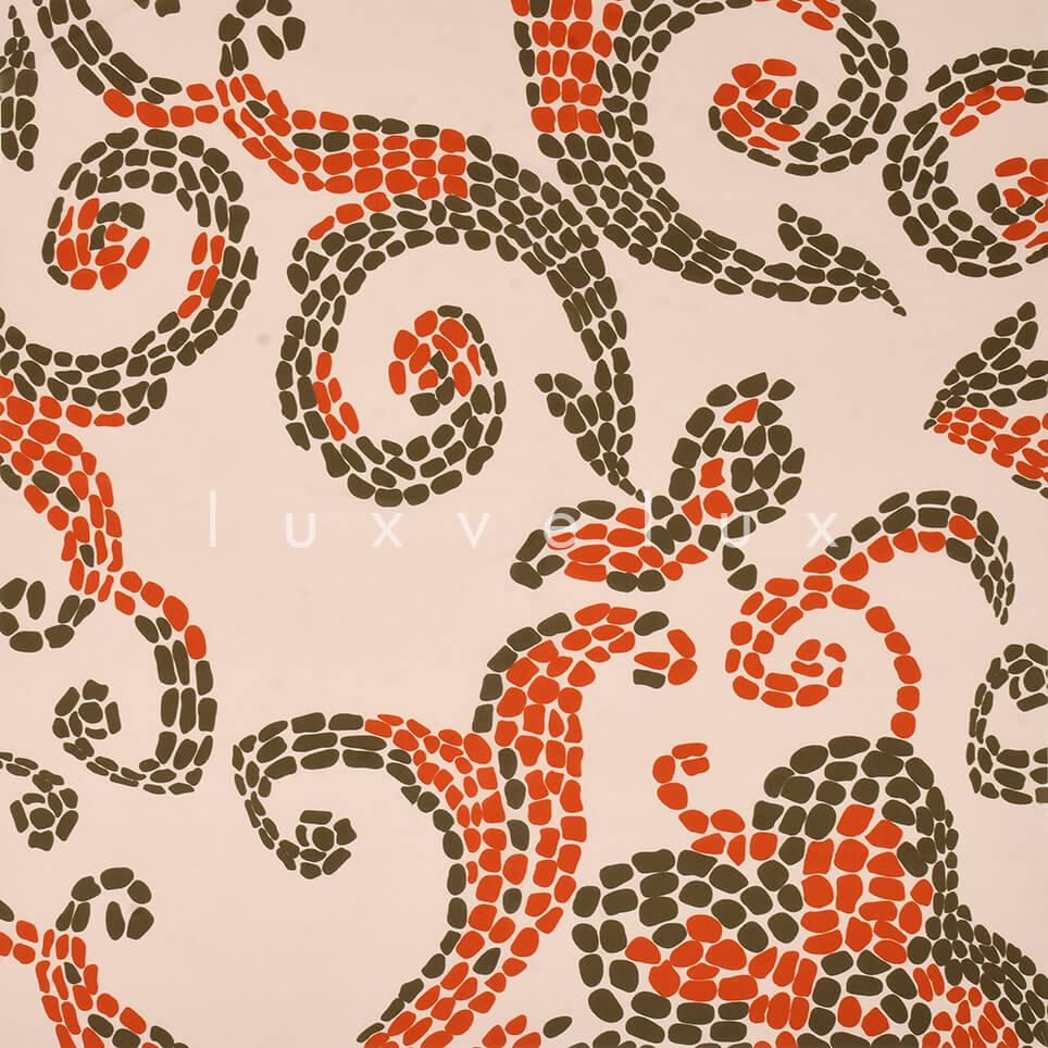 Ottoman Pattern Salmon Floor