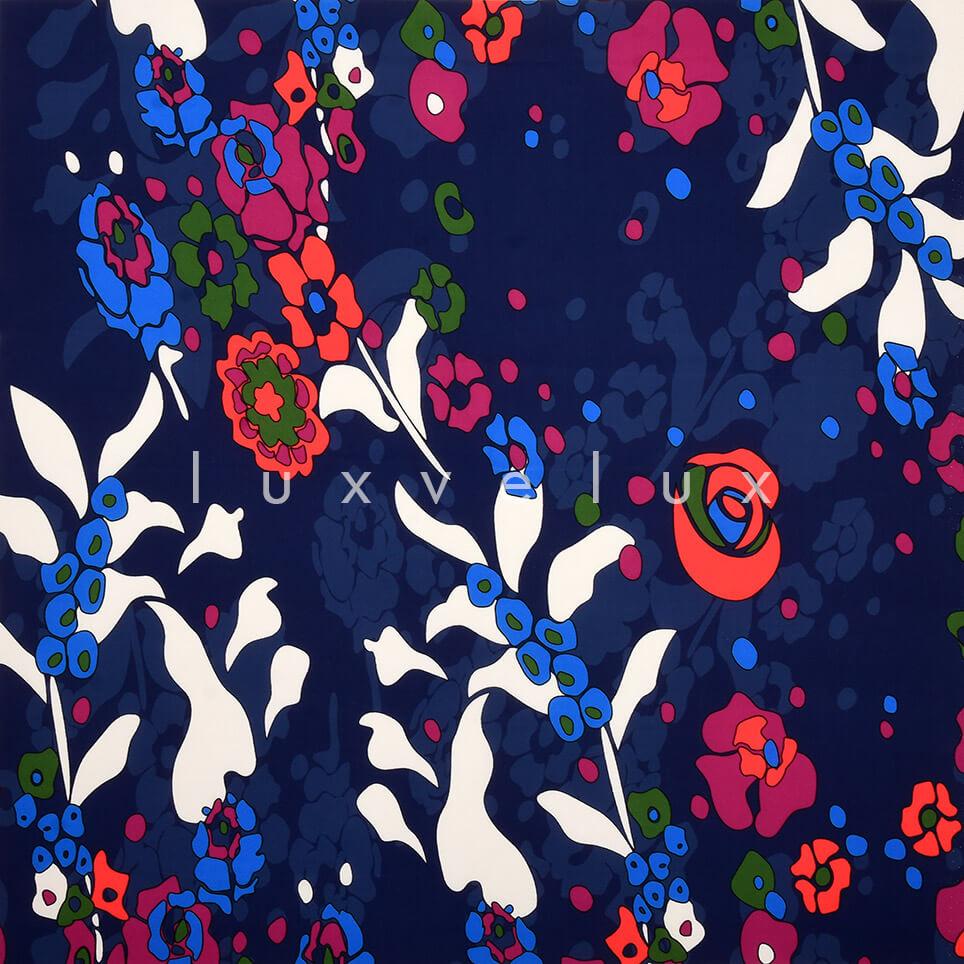 Raindrop Dark Blue Background