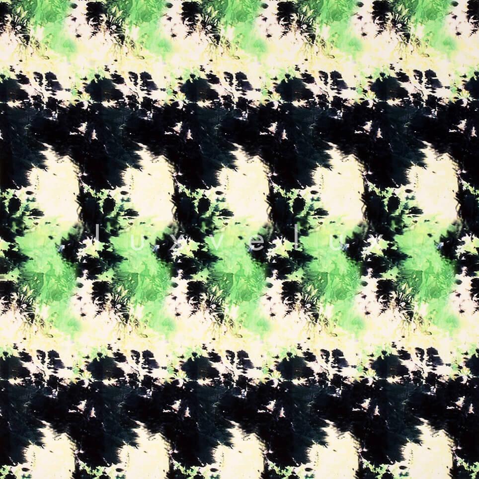 Symmetry Mixed Pattern Green Black