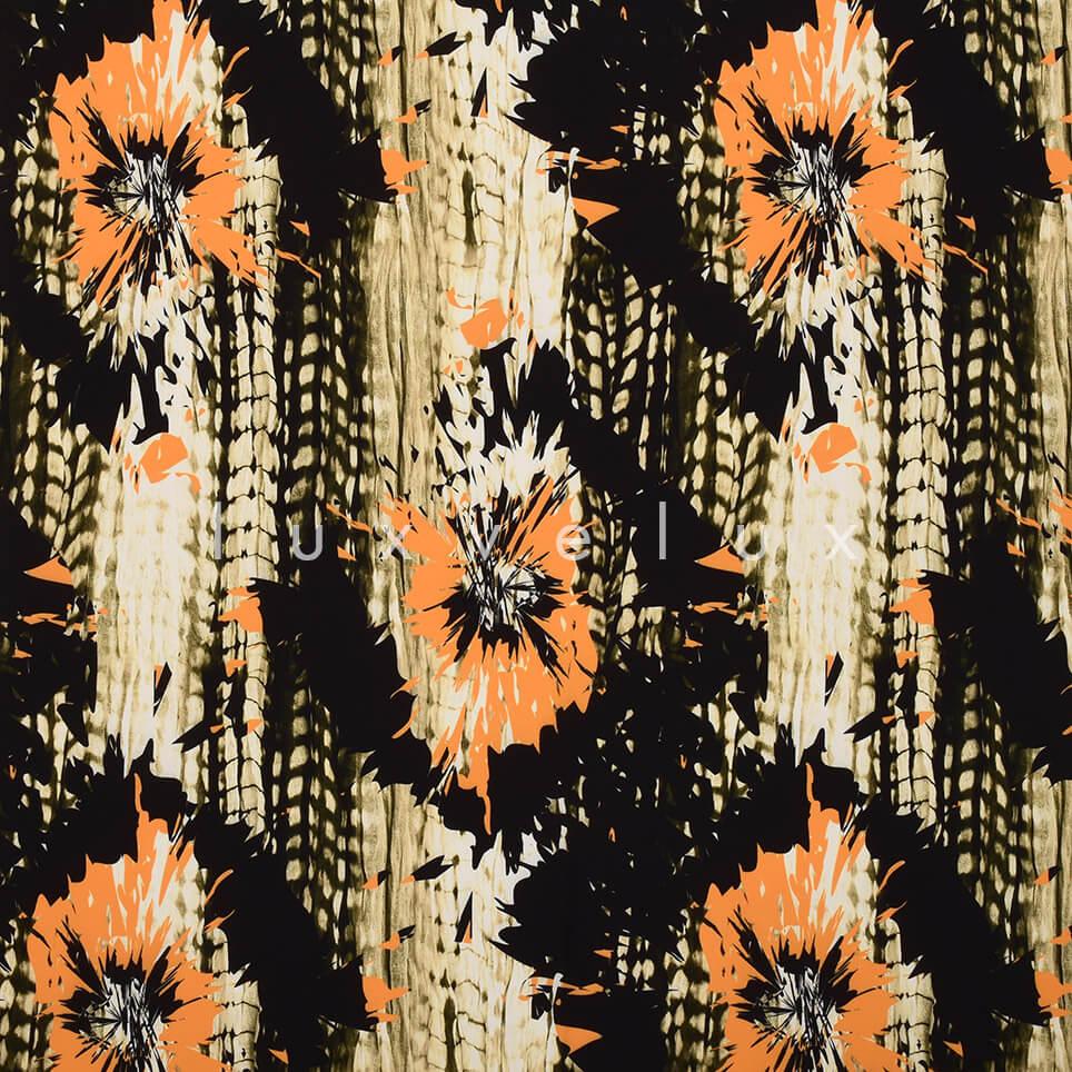 Twinkle Pattern Black Khaki