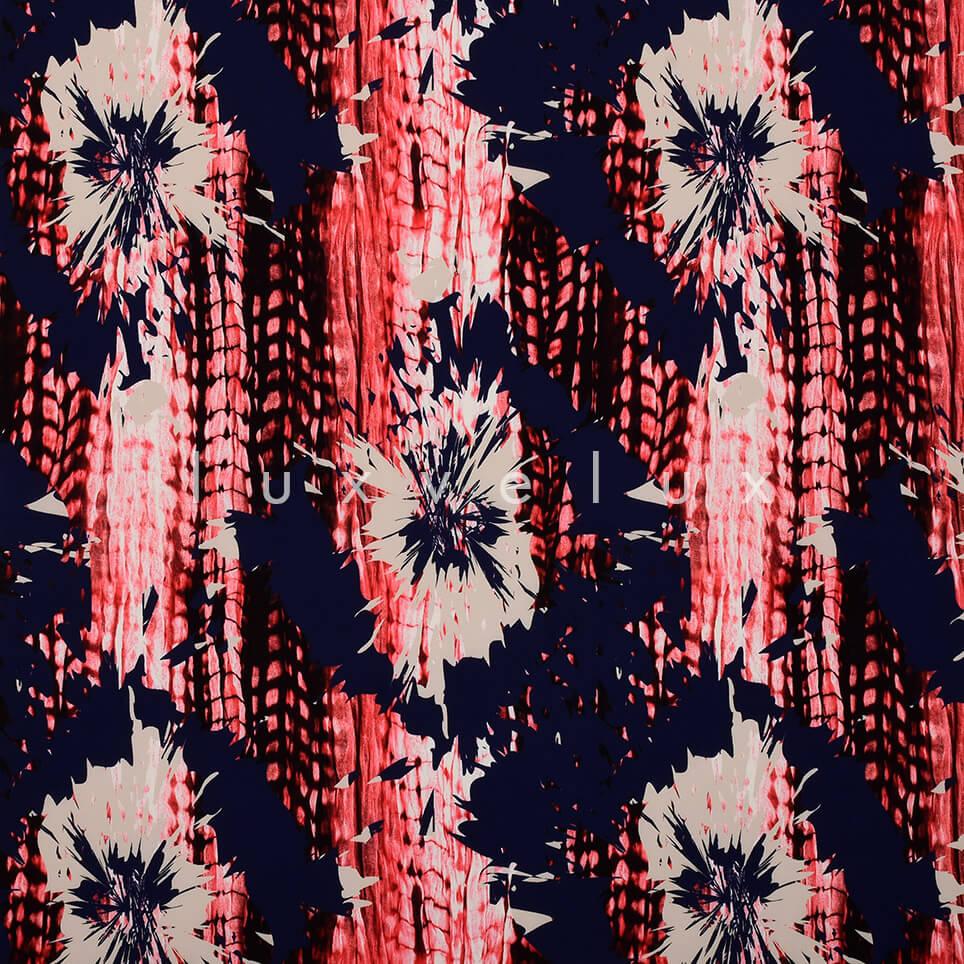 Twinkle Pattern Blue Fuchsia