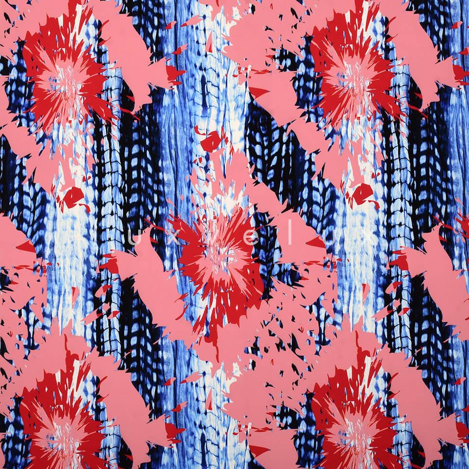 Twinkle Pattern Salmon Blue
