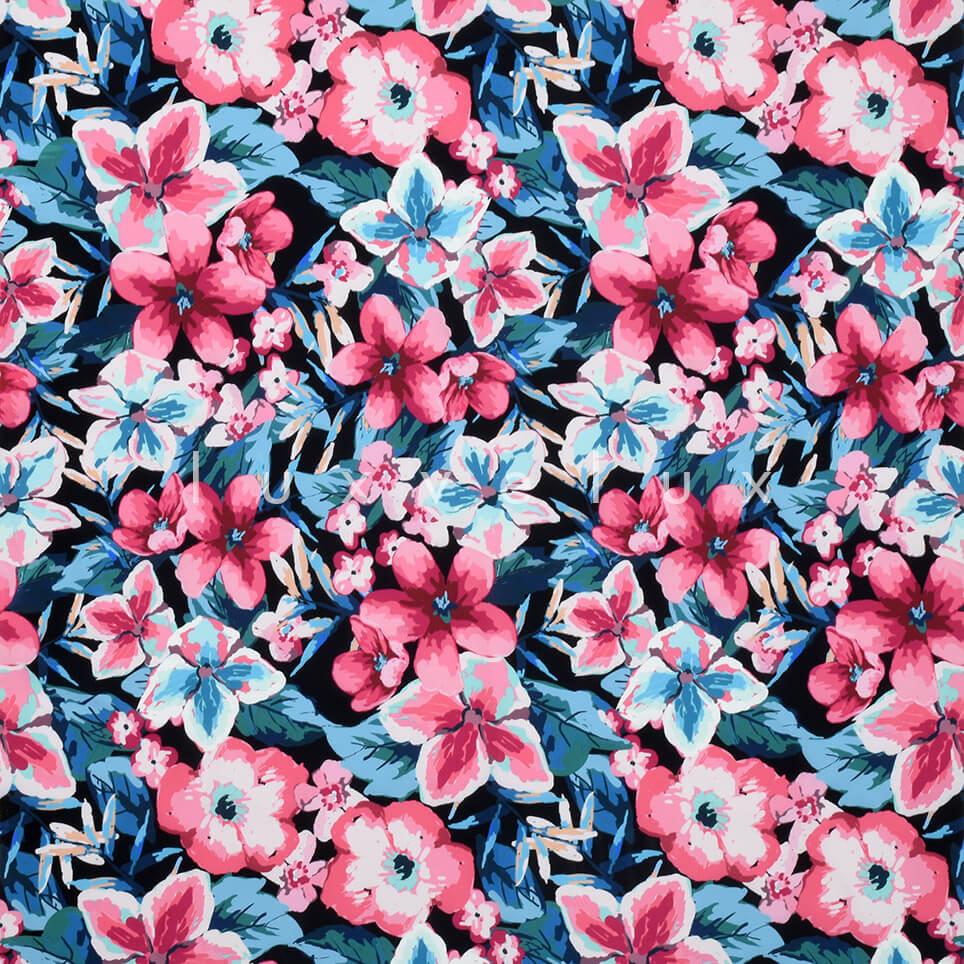 Violet Pattern Blue Background Fuchsia