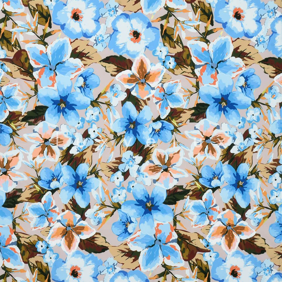 Violet Pattern Yellow Background Blue