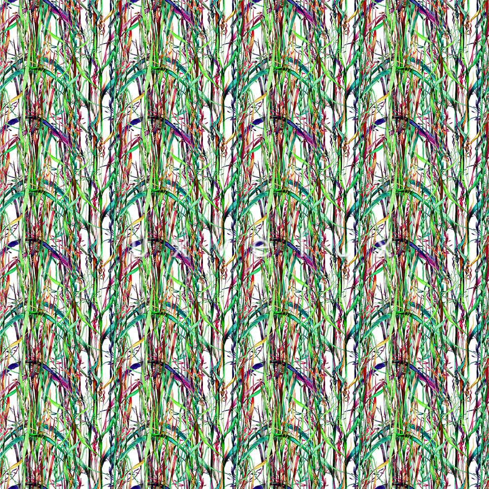 Bamboo Tree Floor Ecru Colorful Lisa