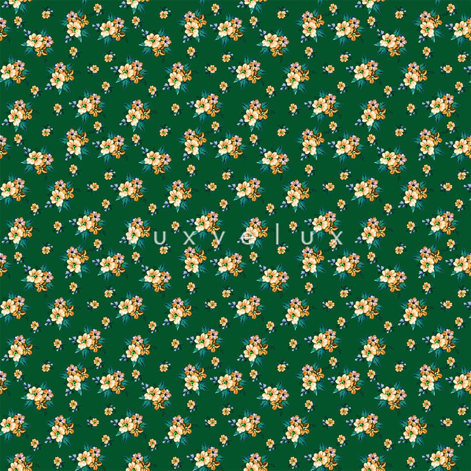 Ground Green Little Salmon Flower Candy