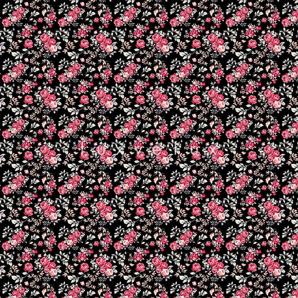 Mixed Skirt Pattern Ground Black Diana