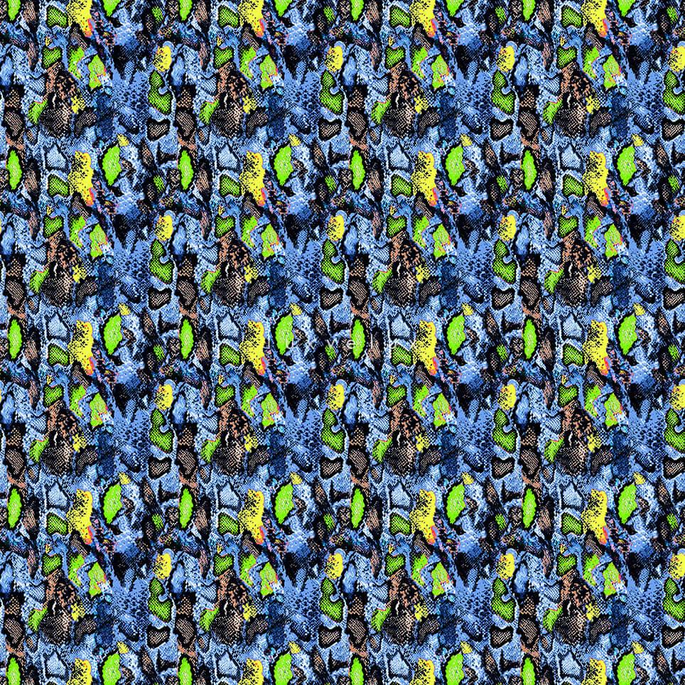 Neon Color Leopard Pattern Green Gretta