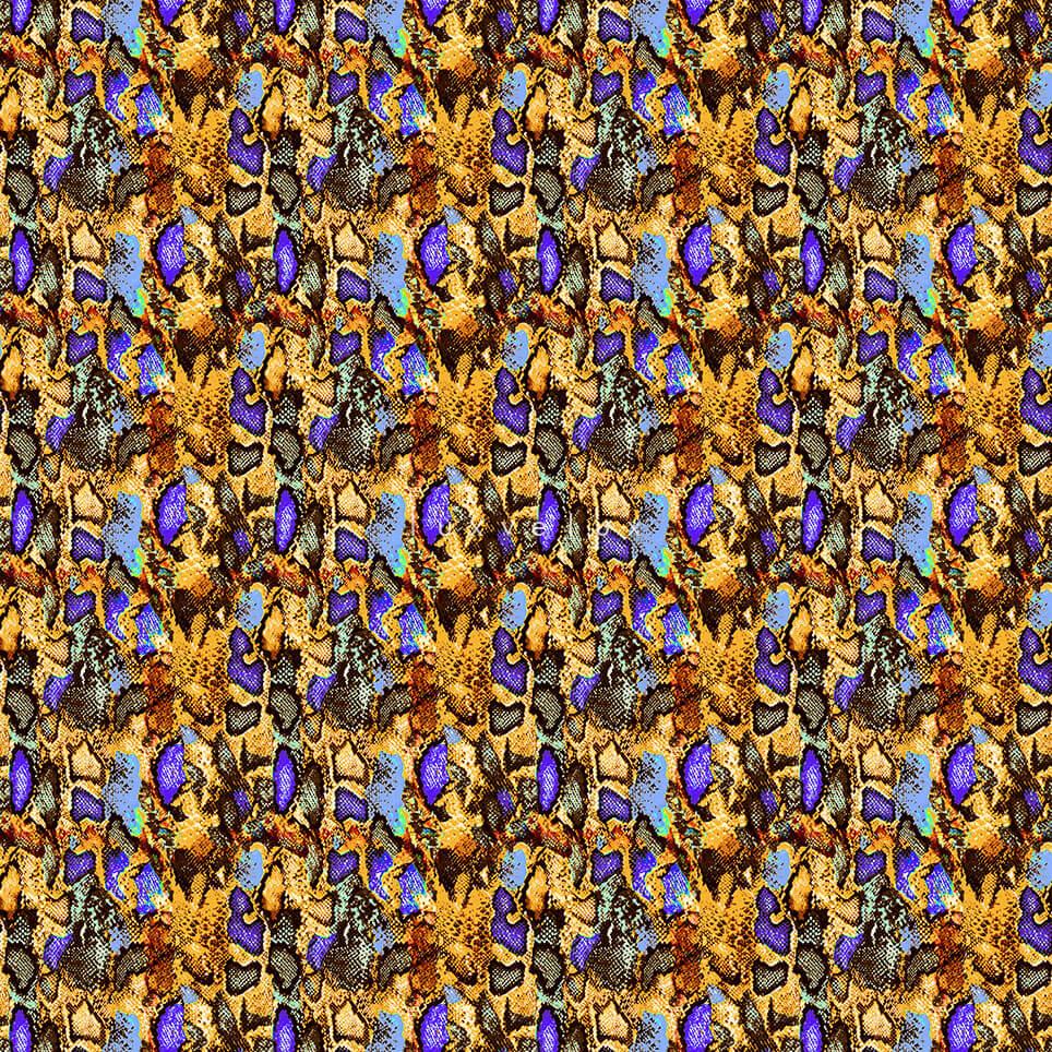 Neon Color Leopard Pattern Yellow Gretta