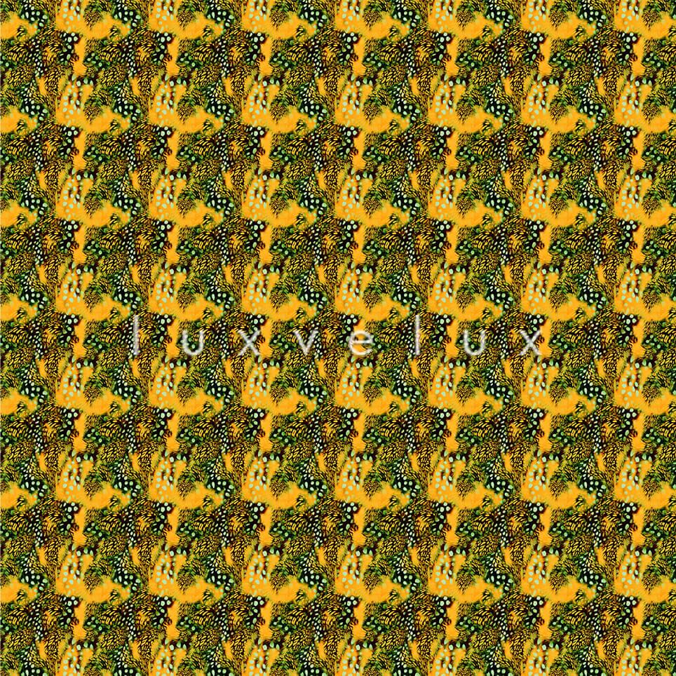 Points Leopard Pattern Ground Yellow Elisa