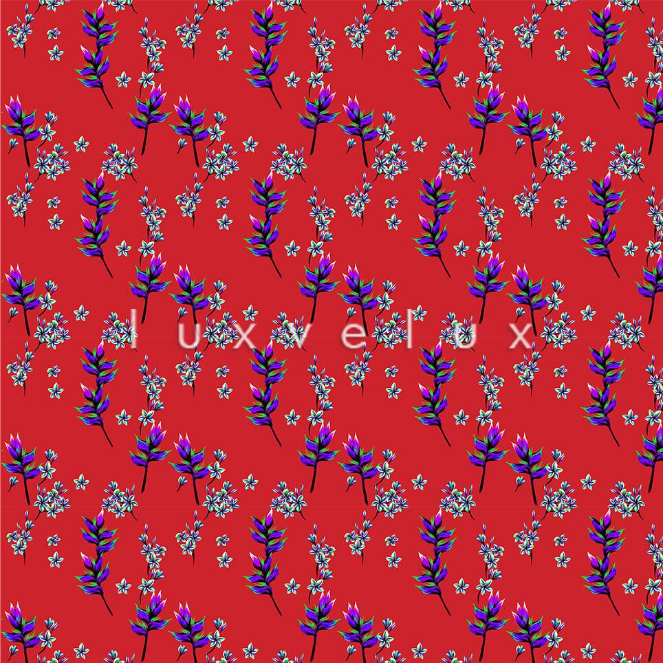Poppy Flower Ground Red Flower Blue Helena