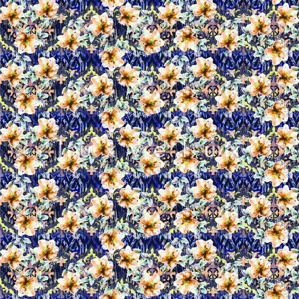 Sax Background Yellow Flower Sophia