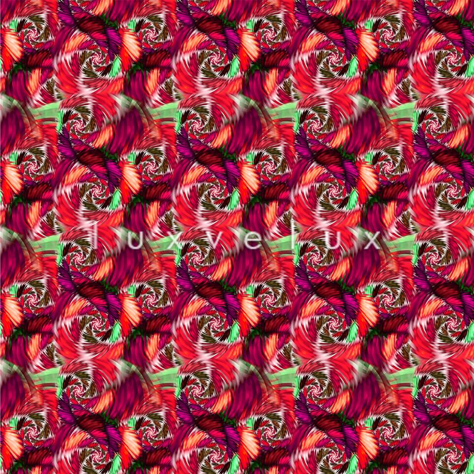 Seahorse Pattern Colorful Ground Fuchsia Jennifer