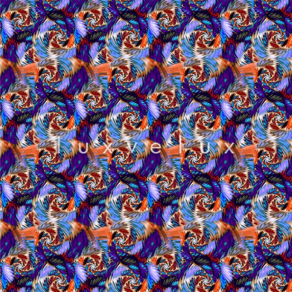 Seahorse Pattern Colorful Ground Magenta Jennifer