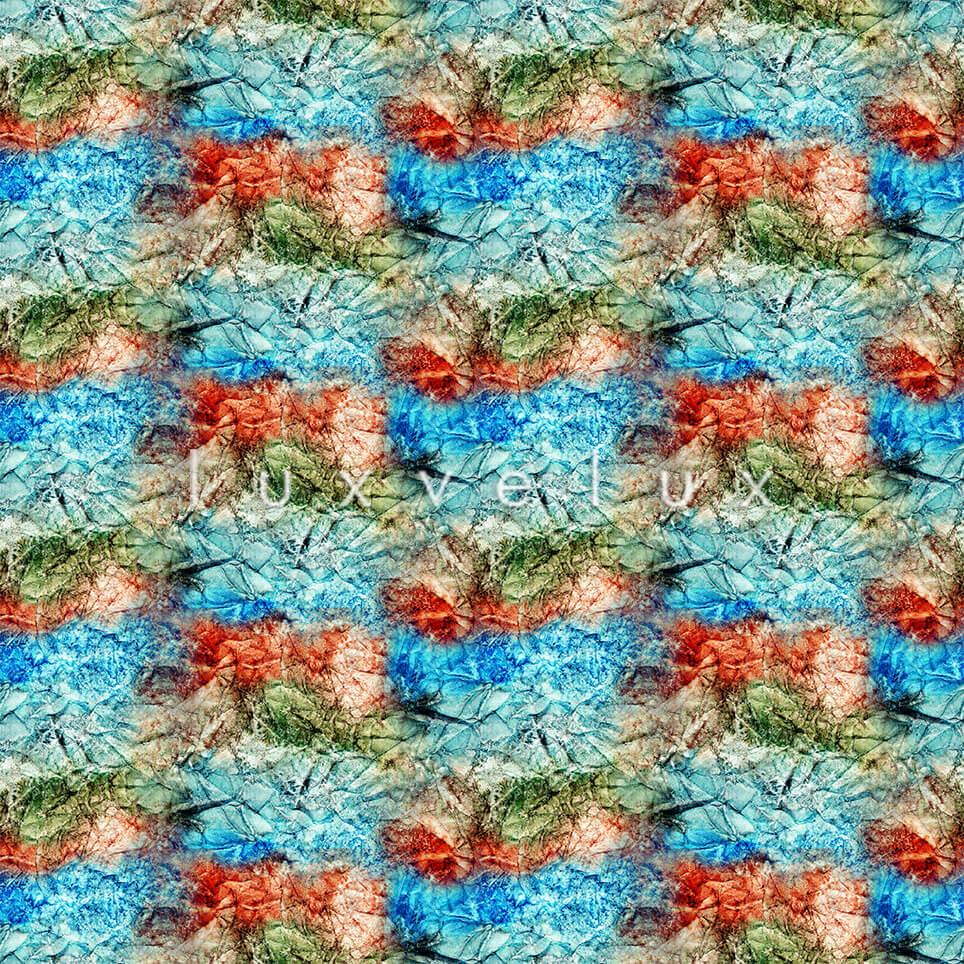 Symmetry Gradient Blue Red July