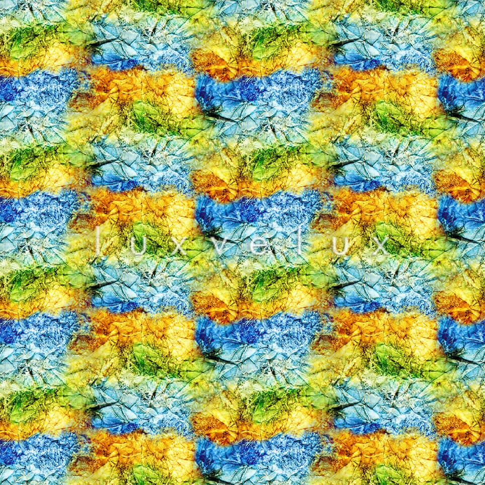 Symmetry Gradient Yellow Blue July