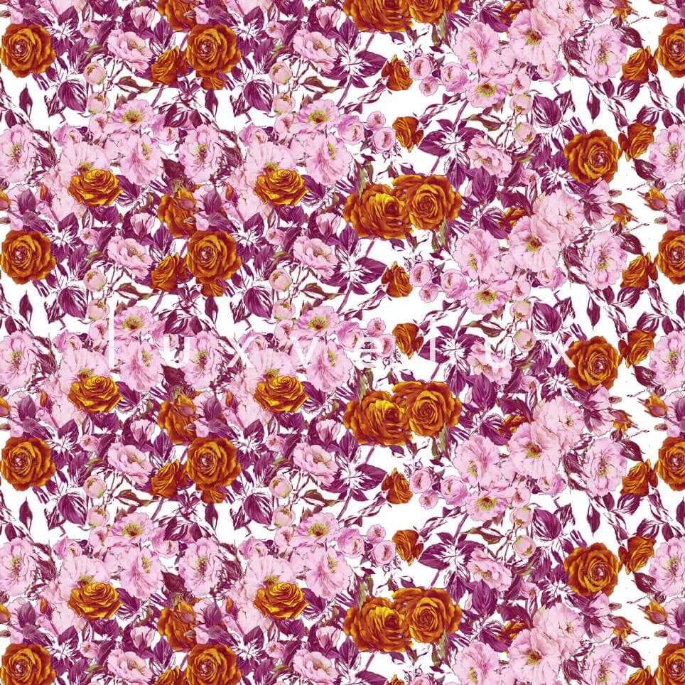 Bouquet Design Orange Salmon Roses Nora
