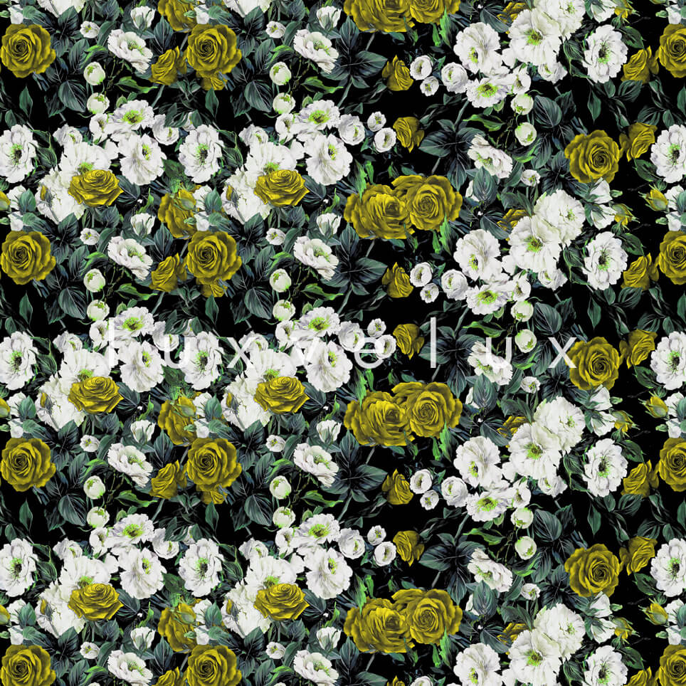 Bouquet Design White Yellow Roses Nora