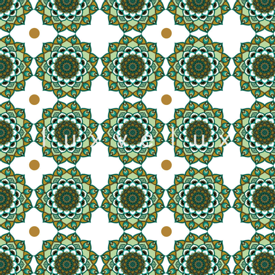 Marbled Pattern Ground Ecru Brown Jasmine