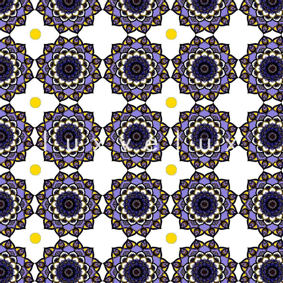 Marbled Pattern Ground Ecru Light Yellow Jasmine