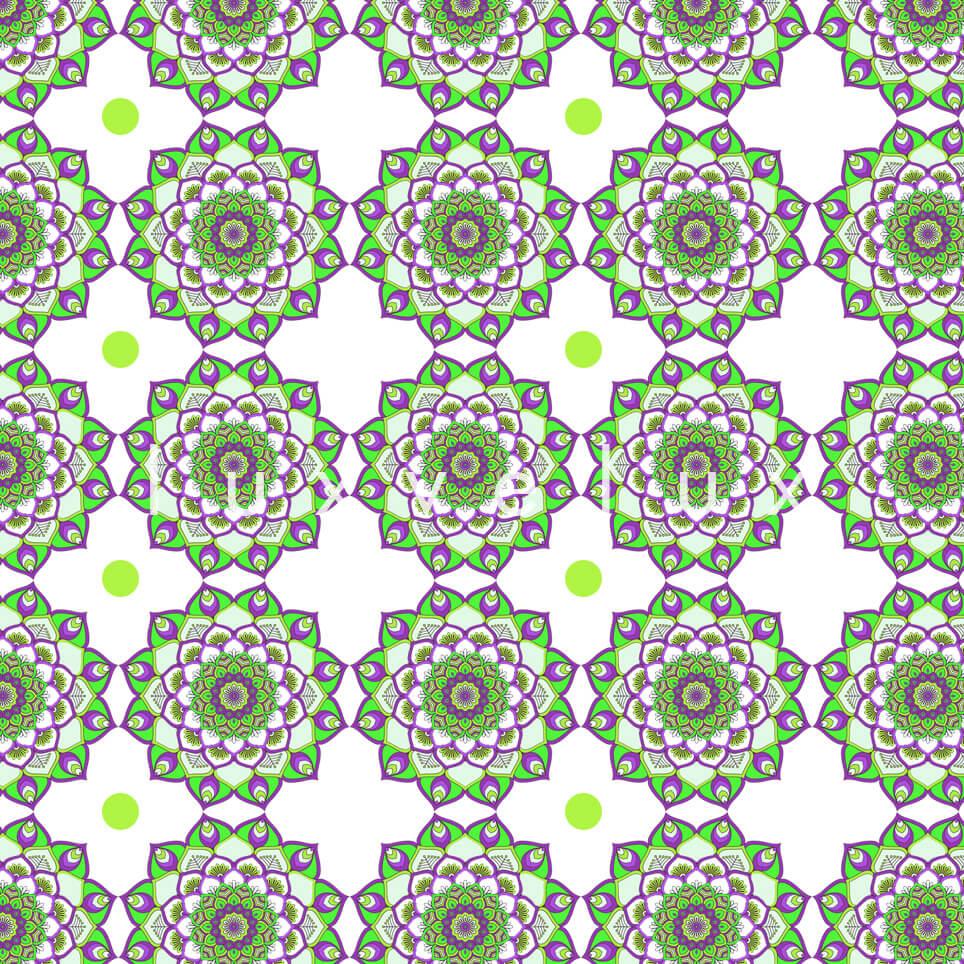 Marbled Pattern Ground Ecru Yellow Jasmine