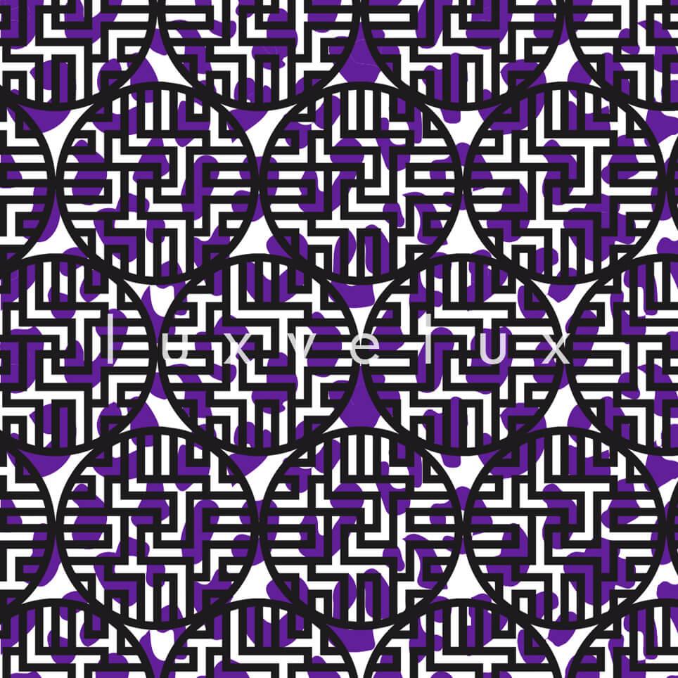 Roller Points Wrapped Purple Karolina