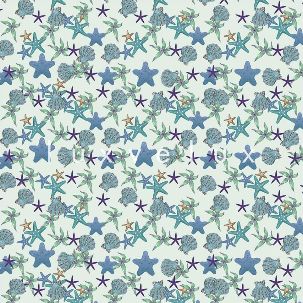 Sea Star Ground White Star Mint Shelby