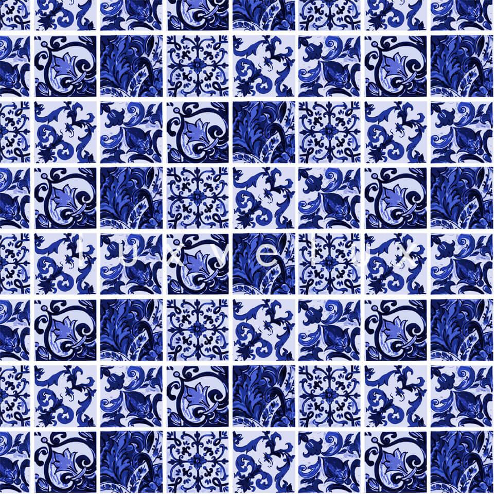 Special Tile Pattern Blue Kyla