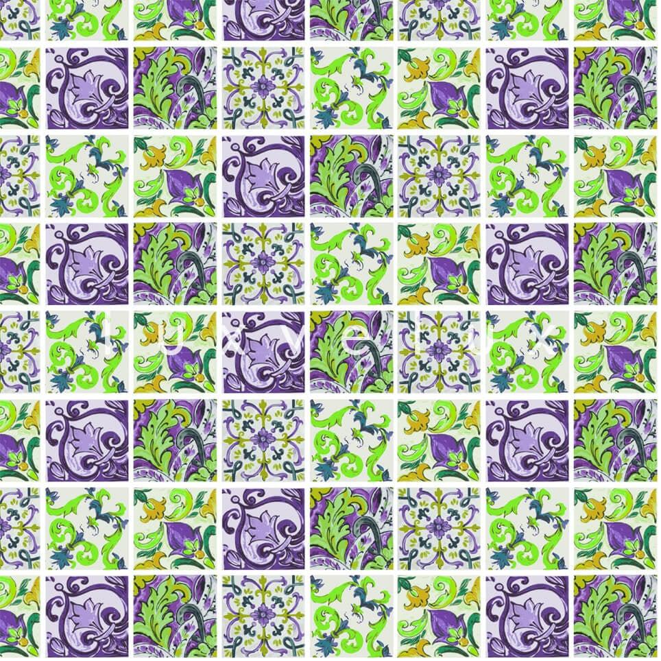 Special Tile Pattern Yellow Gray Kyla