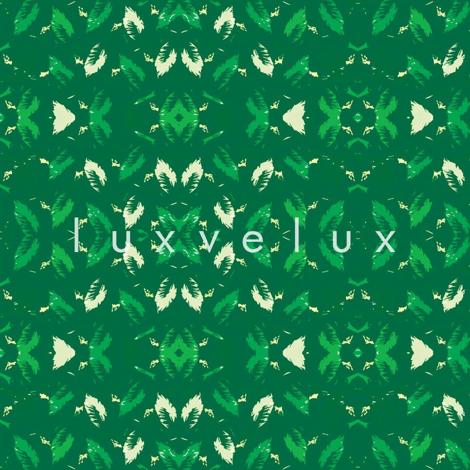 Symmetry Geometry Green White Pattern Octavia