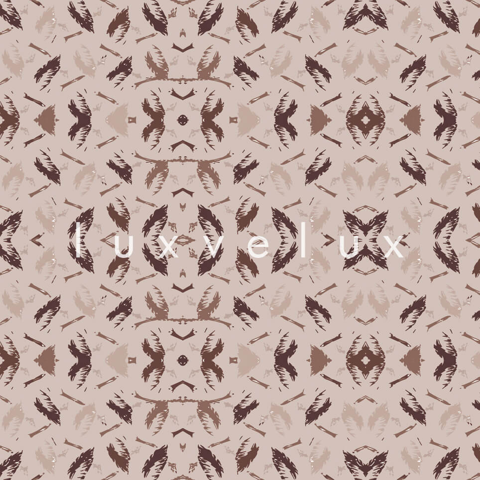 Symmetry Geometry Mink Anthracite Pattern Octavia