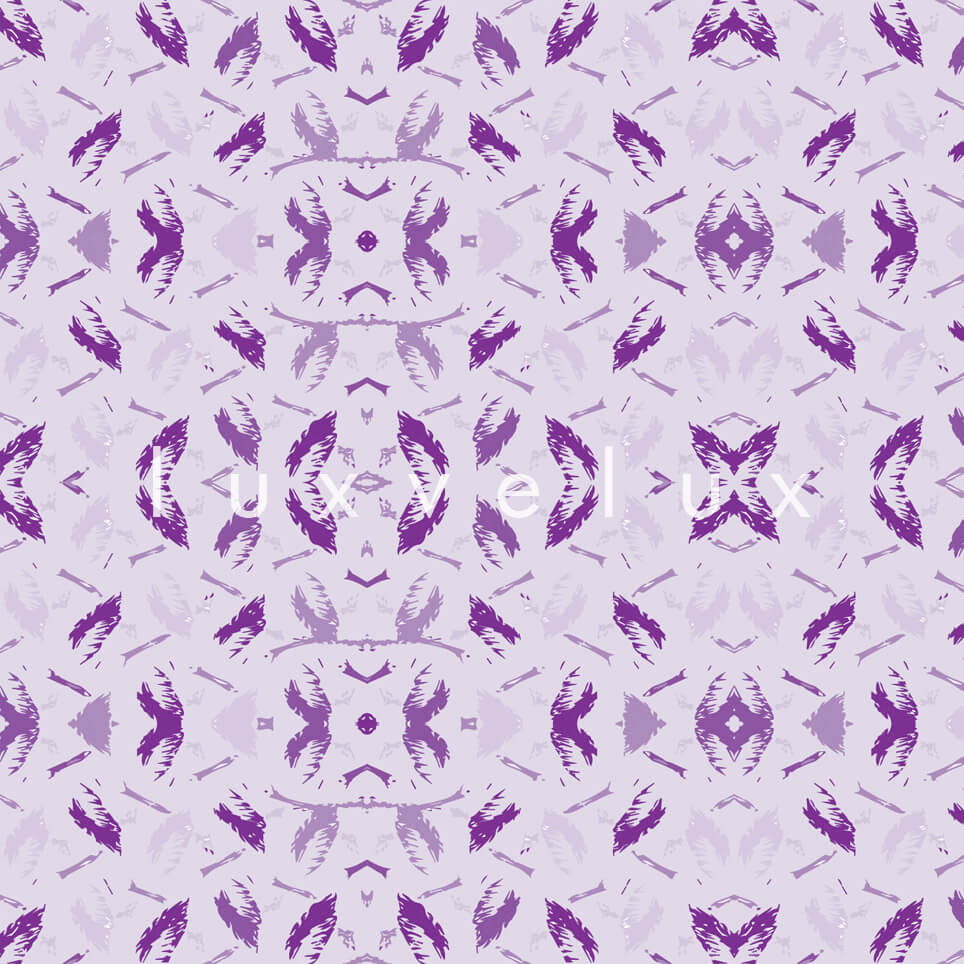 Symmetry Geometry Purple Anthracite Pattern Octavia
