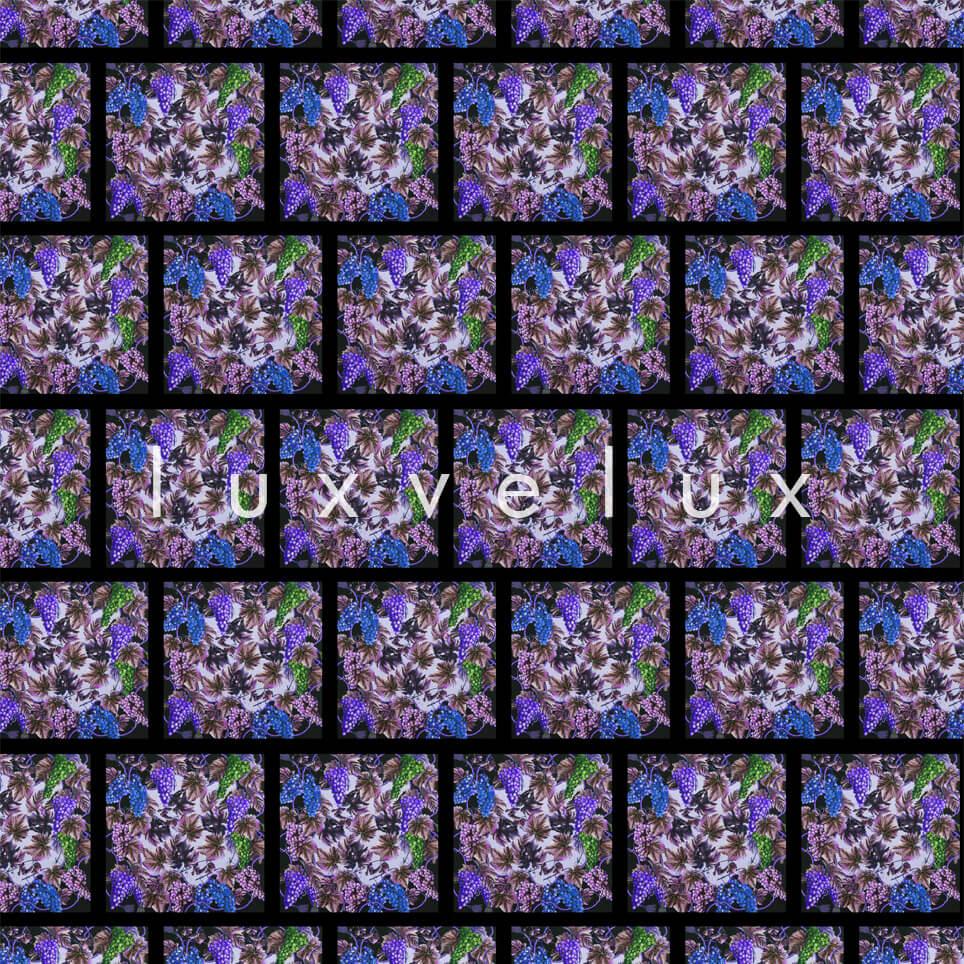 The Vineyards Pattern Purple Blue Kimberly