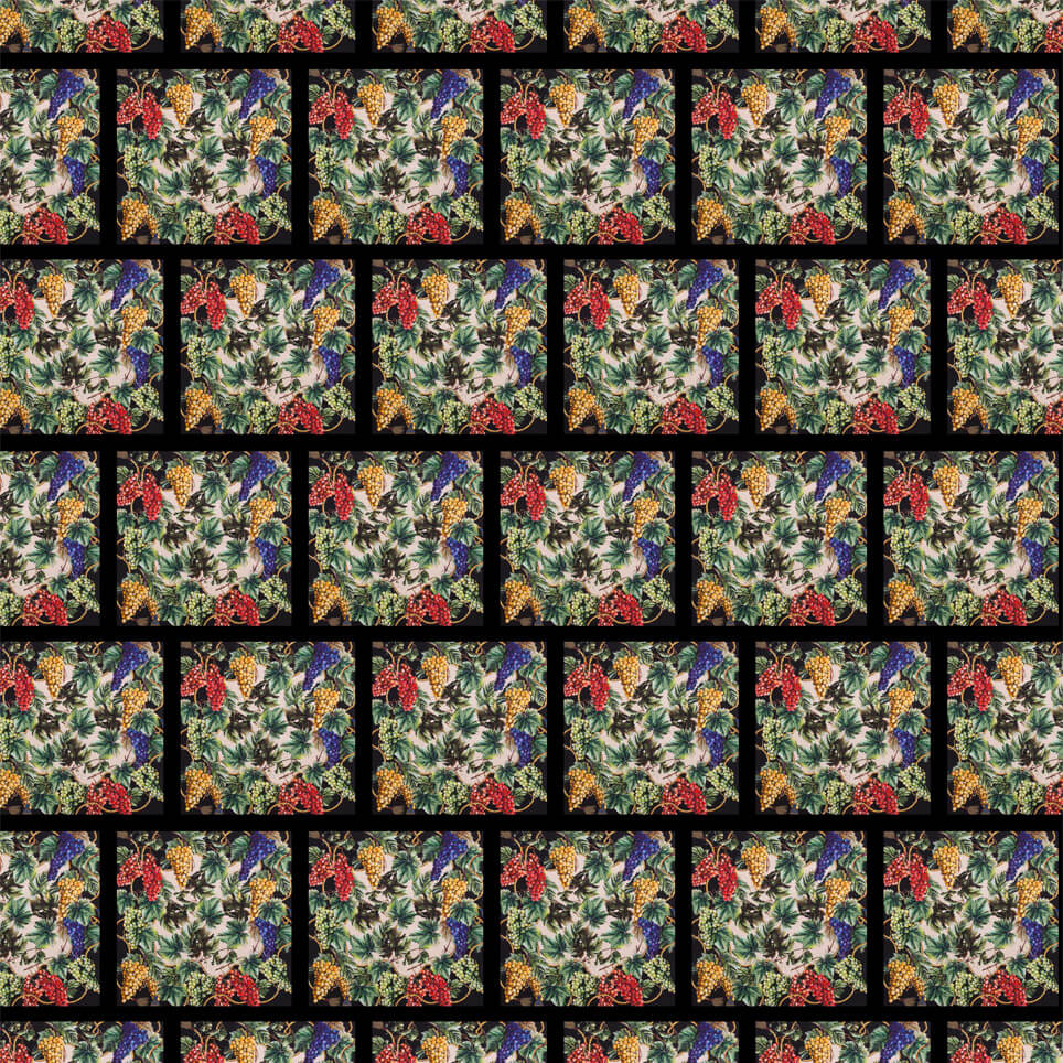 The Vineyards Pattern Red Blue Kimberly
