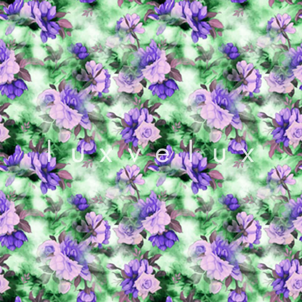 Three dimensional Pattern Green Plato Lavonne