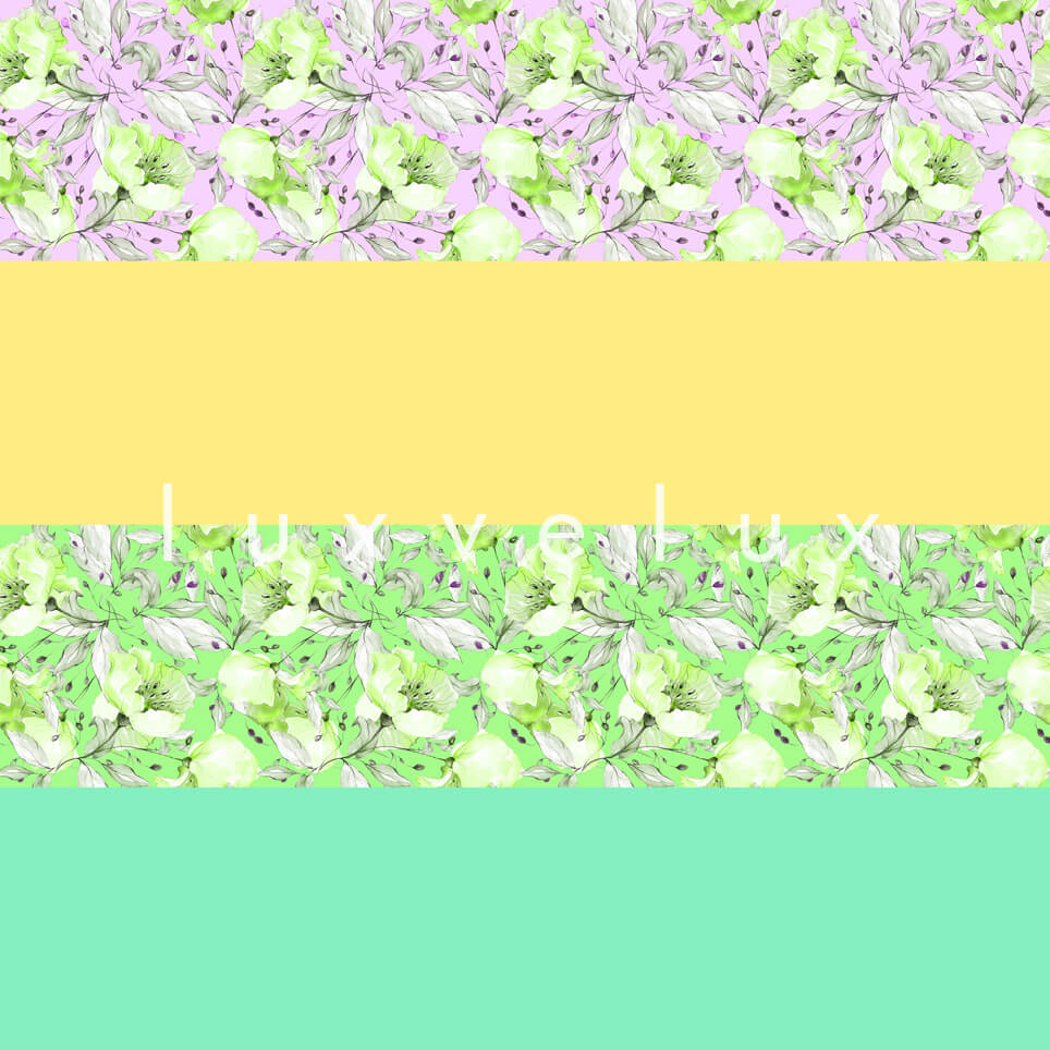 Transverse Line Mint Yellow Emilia