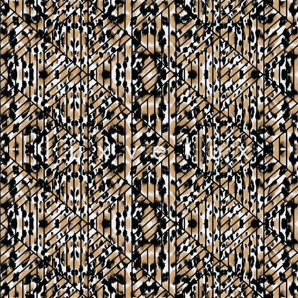 Triangle Leopard Black Brown Natalia