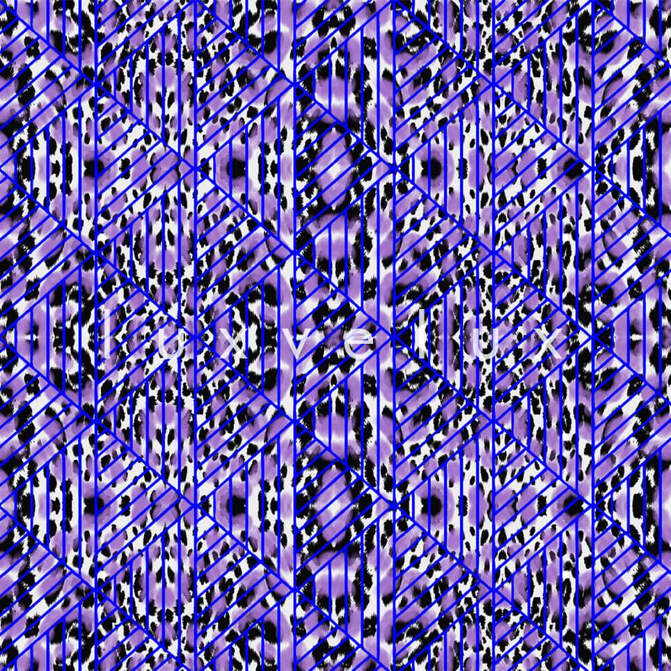 Triangle Leopard Sax White Natalia